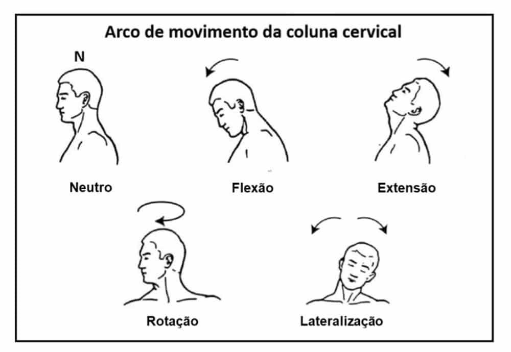 Figura 1 - Movimentação Cervical